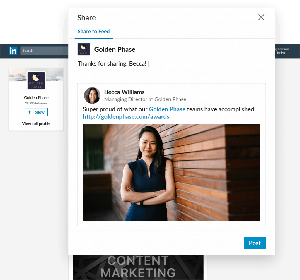 new linkedin pages